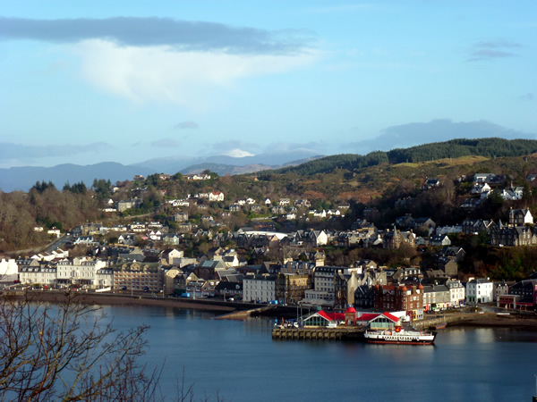 Don Muir Guest House B&B Oban Scotland
